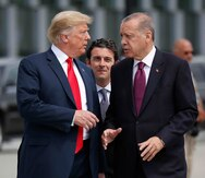 El presidente de Turquía amenaza con clausurar base aérea de EE.UU.