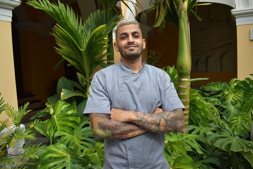 El chef Víctor Torres inició su carrera en 2017.