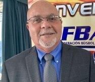 Dr. José Quiles Rosas, presidente de la Federación de Béisbol de Puerto Rico (Suministrada)