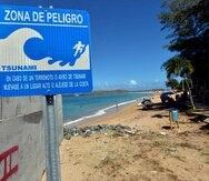 La sirena del tsunami