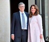 Fotografía de archivo de Melinda y Bill Gates.