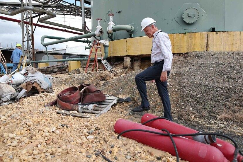 La AEE propuso la contratación de hasta 500 megavatios tras la salida de operaciones de la central Costa Sur. (GFR Media)
