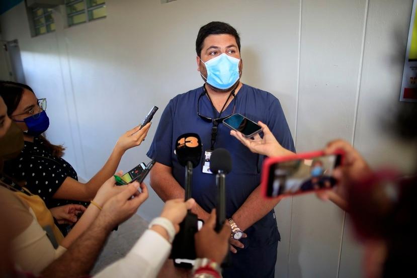 El doctor Carlos Mellado.