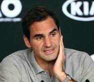 Roger Federer, de 38 años, suma 20 campeonatos de Grand Slam en el tenis. (AP)