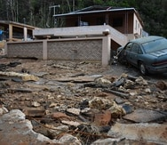 La destrucción que el huracán María dejó en la comunidad Las Margaritas en Quebradillas fue impresionante.