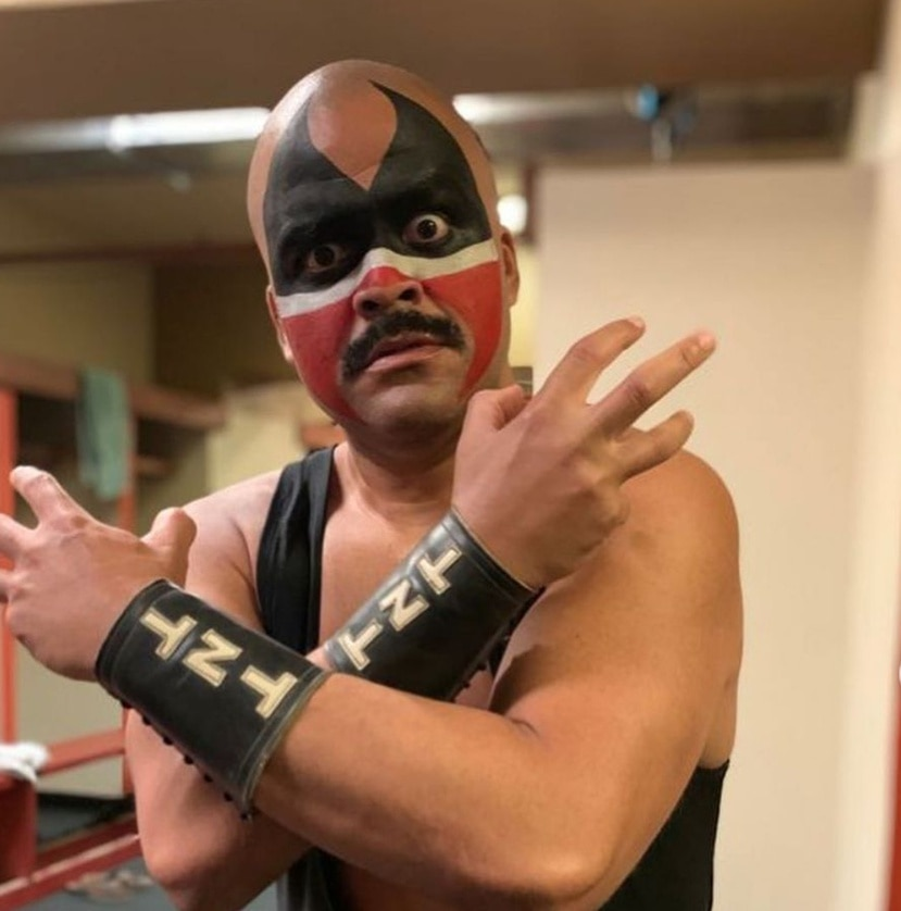 """Juan Pablo Díaz dará vida al luchador TNT en la película """"Las Estrellas de la Lucha Libre"""", que se filma actualmente en la isla."""