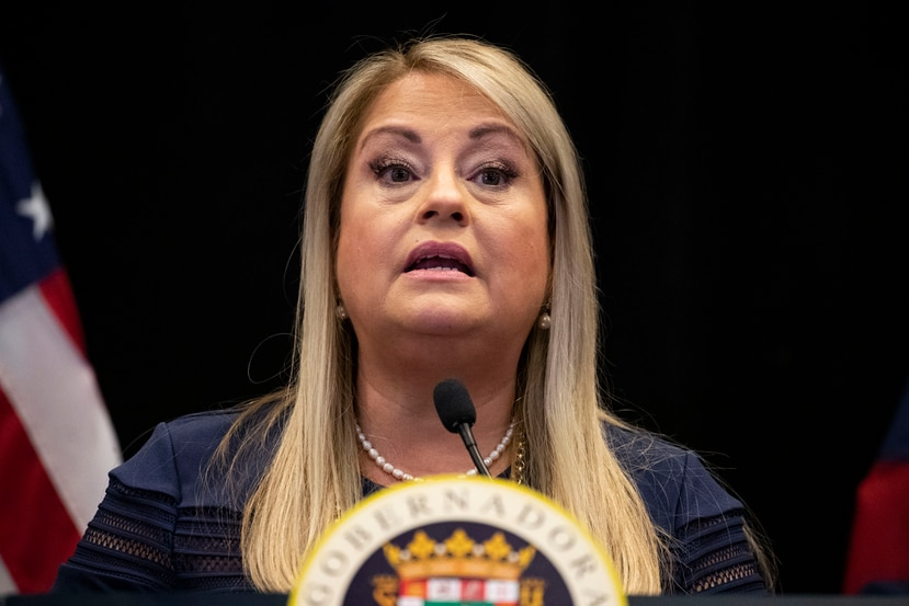 La gobernadora Wanda Vázquez Garced.