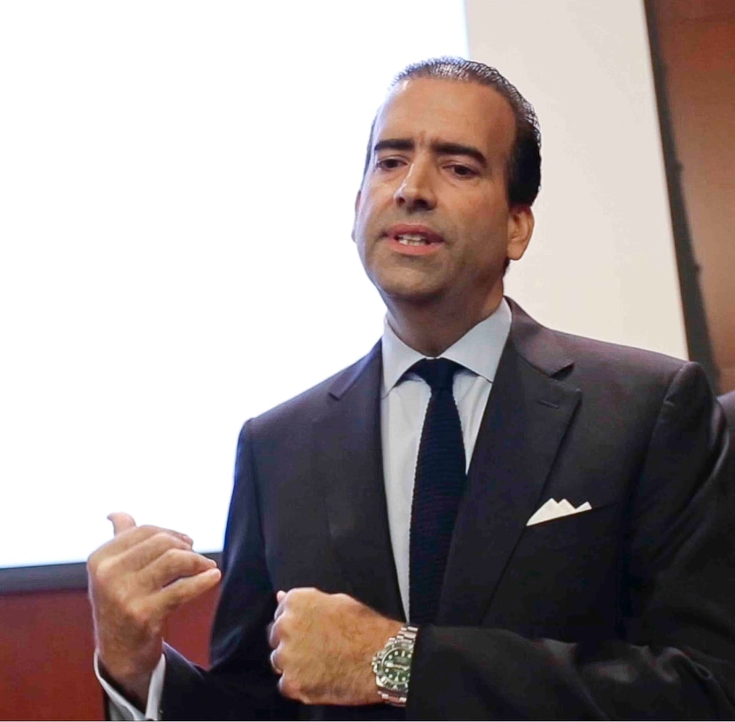 José Carrión III, is the president and principal partner of HUB International, an insurance firm acquired by his previous firm, Carrión, Laffitte & Casellas. (Christopher Gregory/GFR Media)