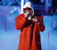 Bad Bunny puso su voz a un anuncio de Adidas en tributo a Messi. EFE/EPA/ETIENNE LAURENT