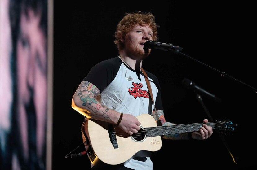 Sheeran –quien lució muy natural, sin poses ni pretensiones de clase alguna- cantó sus mejores éxitos durante su presentación el Coliseo José Miguel Agrelot.