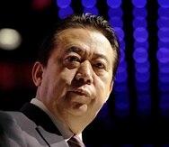 El expresidente de la Interpol, Meng Hongwei, participa en un evento en Singapur. (AP)