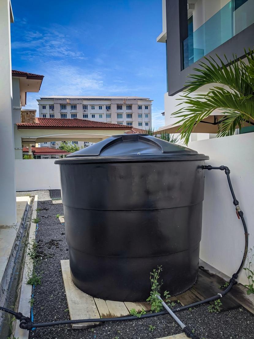 Las cisternas son una alternativa para suplir necesidad de agua.