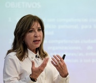 """María de Lourdes Lara informó que el próximo ofrecimiento será un """"webinar"""", los días 6 y 13 de mayo, a través de la plataforma Zoom. (GFR Media)"""