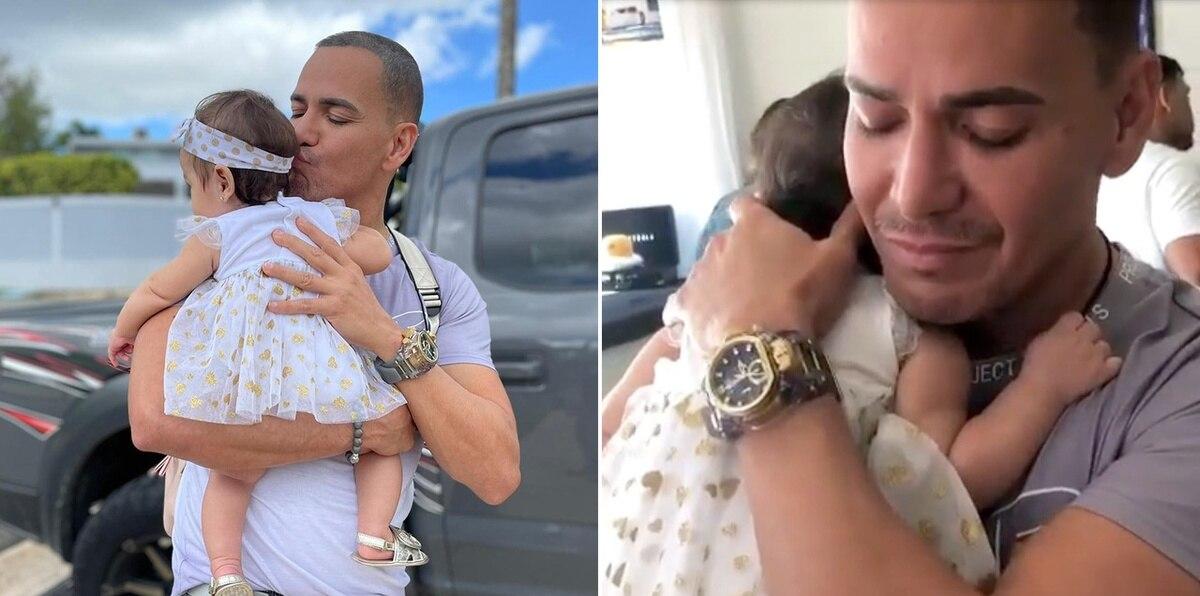 Víctor Manuelle y su nieta: el tierno vídeo que conmueve en las redes
