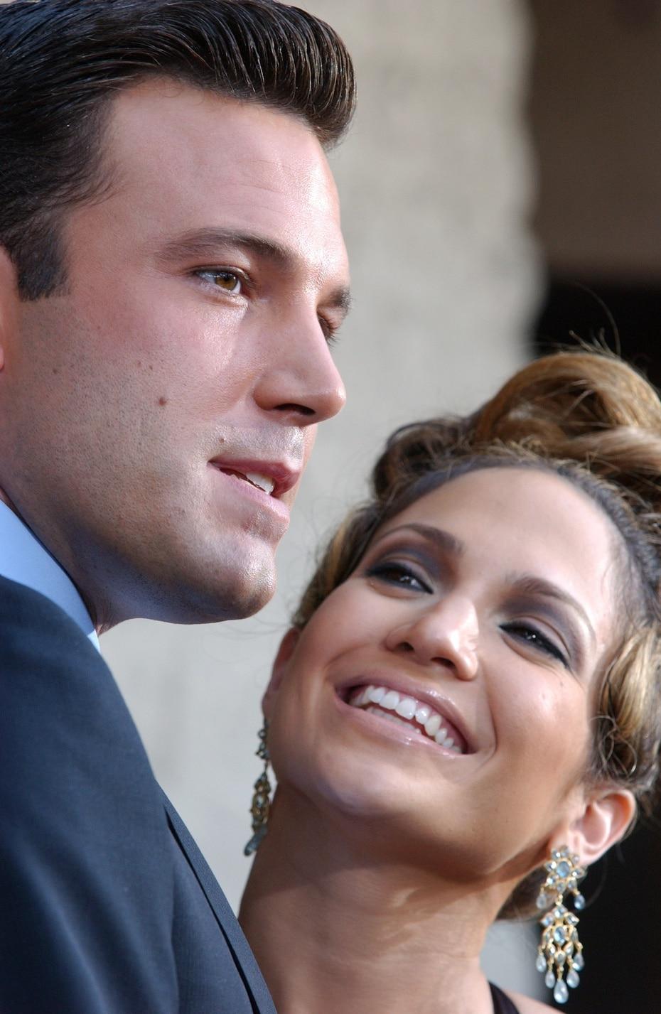 """En 2014, J.Lo dijo en """"Today show"""" que la ruptura de ella y Affleck probablemente fue su """"primer gran desamor""""."""