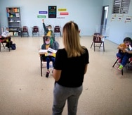 Los dirigentes de los gremios que agrupan a la clase magisterial reiteraron que Educación no estaba listo para el retorno presencial al salón de clases.