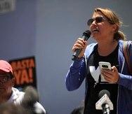 Eva Prados, candidata a la Cámara de Representantes por el Movimiento Victoria Ciudadana, se ha destacado como integrante del Frente Ciudadano por la Auditoría de la Deuda.