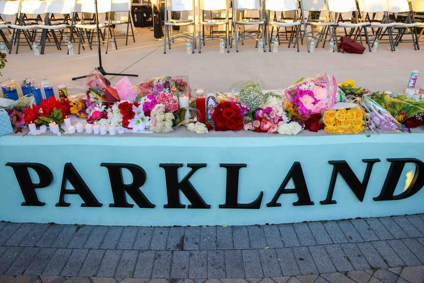 En la masacre en Parkpland murieron 17 personas. (EFE)