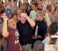 Imagen de fiesta en Morovis sin distanciamiento social ante el COVID-19