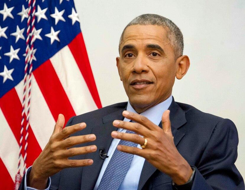 Barack Obama. (Agencia EFE)