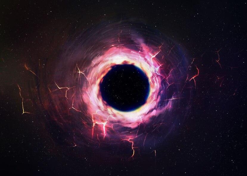 En estos sistemas es habitual que el agujero negro absorba material de su estrella compañera. (Shutterstock)