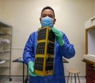 El profesor Amílcar Rincón Charris, de la Universidad Interamericana en Bayamón, es el investigador principal del satélite PR-CuNaR2.