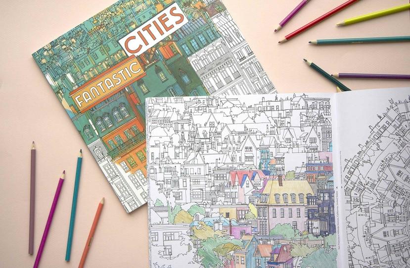 Los libros de colorear para adultos han ganado gran popularidad en los pasados años. (Suministrada)