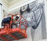 Alexis Díaz lleva su arte al museo y a la lata