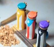 Entre las artesanías disponibles en la tienda virtual, se encuentran piezas de diferentes renglones como la talla de madera, instrumentos musicales, esculturas en barro, joyería, jabones, entre otras.