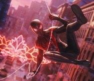 Captura de Marvel's Spider-Man: Miles Morales para el PS4 y PS5.