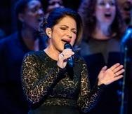La cantante Gloria Estefan.