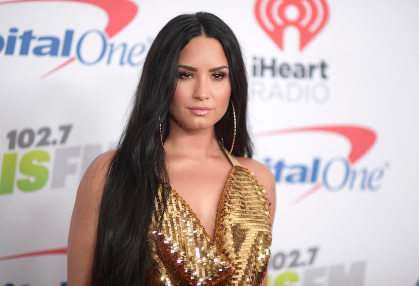 Demi Lovato estuvo casi dos semanas hospitalizada por la sobredosis. (AP)