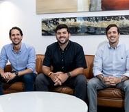 Los socios de la multilatina, desde la izquierda: Lionel Peralta, presidente; Antonio Ortiz, CEO y Carlos Nieves, CFO. Ortiz y Nieves fundaron la empresa hace una década. En el 2018 Peralta se unió como socio.