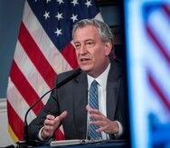 En la foto, el alcalde de Nueva York, Bill de Blasio. (EFE)