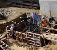 El sector de la construcción experimentó un aumento de 4,350 empleos en los seis meses después del huracán, según el informe de la firma de análisis V2A. (GFR Media)