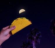 Taco Bell se inspira en la luna para regalar tacos