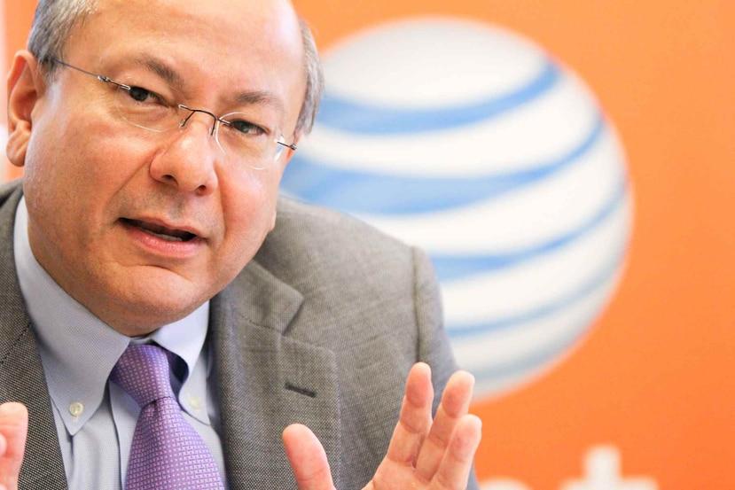 José Juan Dávila, gerente general de AT&T en Puerto Rico, dejó ver que la compañía va al mismo ritmo de inversión del año anterior. (Archivo/ GFR Media)