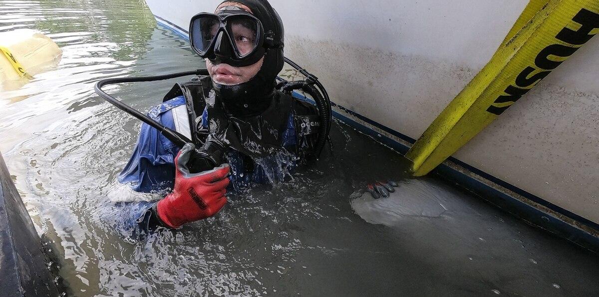 Así removieron escombros marinos en la Bahía de Jobos