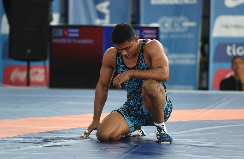 Franklin Gómez no pudo conseguir su clasificación olímpica en el Mundial. (Archivo)