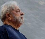 Lula da Silva cumple una pena de 12 años de prisión por corrupción y lavado de dinero. (AP/Andre Penner)