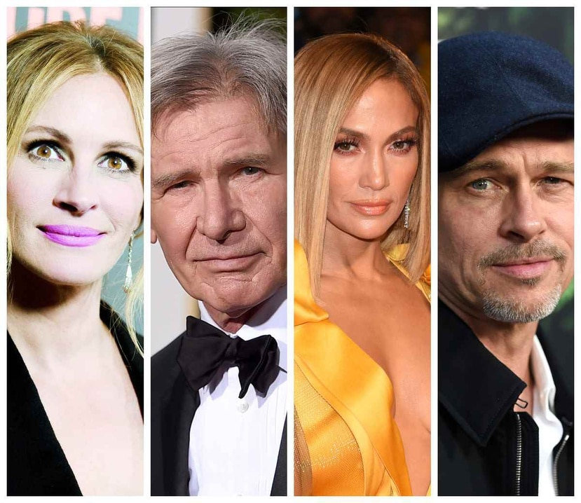 Muchas de las estrellas de Hollywod tuvieron varios trabajos, antes de convertirse en famosos. (Collage)