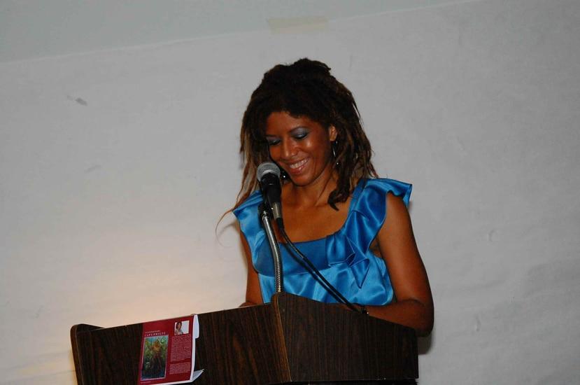 """Yvonne Denis Rosario explicó que la intención de su obra de ponderar a """"puertorriqueños afros olvidados por la historia, desconocidos por muchos"""". (yvonnedenis.com)"""