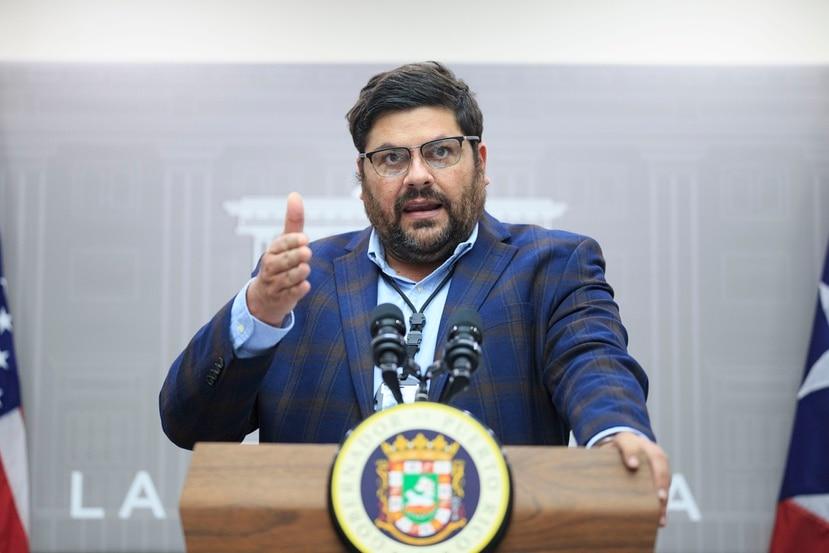 Puerto Rico secretary of Health, Carlos Mellado.