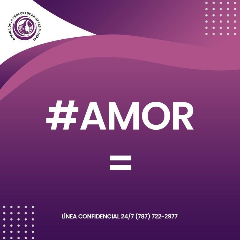 """Arte de la nueva campaña """"#Amor="""". (Suministrada)"""