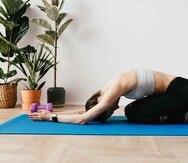 Con las aplicaciones puedes realizar los distintos ejercicios desde la tranquilidad de tu hogar. (Pexels)