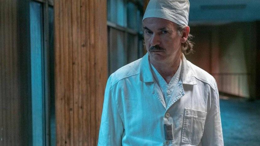 """El actor británico Paul Ritter formó parte de la serie de HBO """"Chernobyl"""", donde caracterizó al ingeniero nuclear Anatoly Dyatlov."""