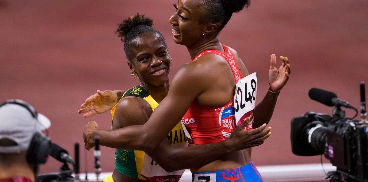 La vallista de velocidad va en busca de ser en la segunda medallista de oro boricua en la historia olímpica de Puerto Rico luego de la presea dorada que conquistó en la edición de Río 2016 la tenista Mónica Puig.
