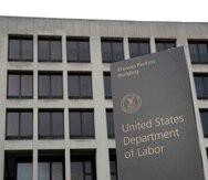 Departamento del Trabajo federal en Washington.