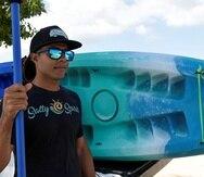 Anak Padró, fundador del operador de aventuras acuáticas Salty Spirit, abrió su negocio en enero de este año.
