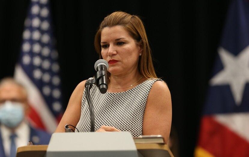 Noelia García, secretaria de la Gobernación.